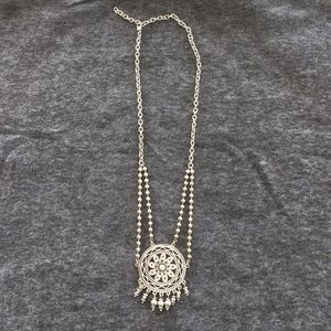 Silver necklace 21 inches